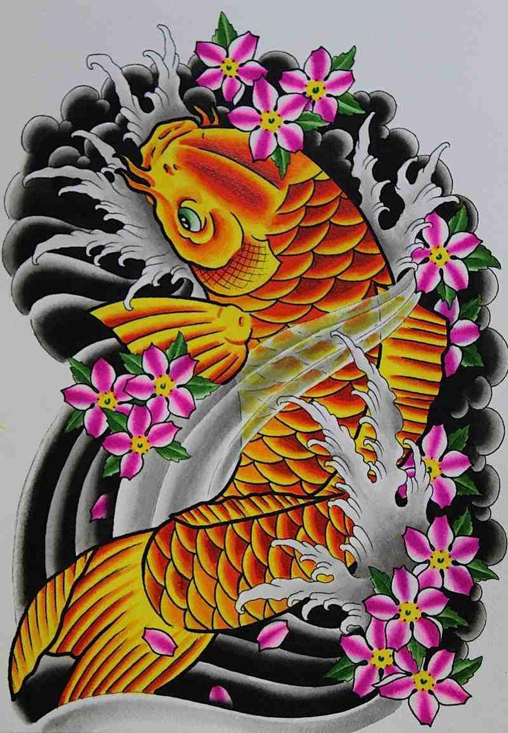 60 Tatuagens de Carpas Chinesas - Semana Oriental