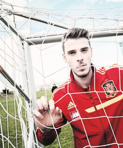 Nice shot of David De Gea