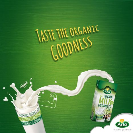 Arla is the world's largest producer of organic dairy products. By choosing our Organic UHT Milk you contribute to a healthy lifestyle for you and your family.