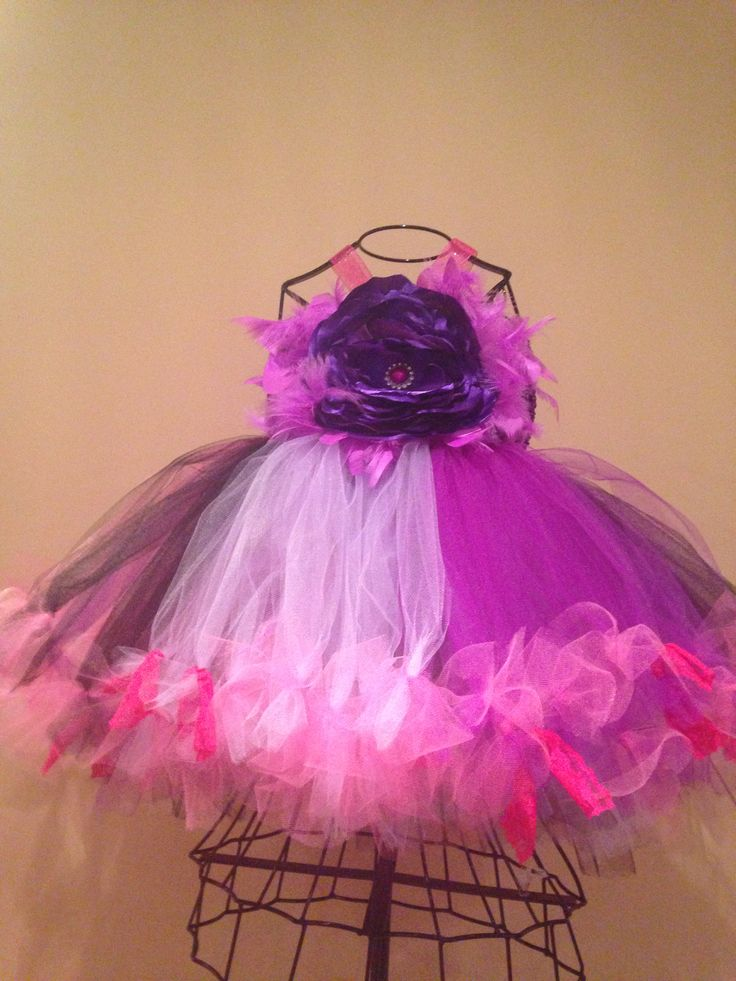 Couture & vintage inspired birthday tutu dress