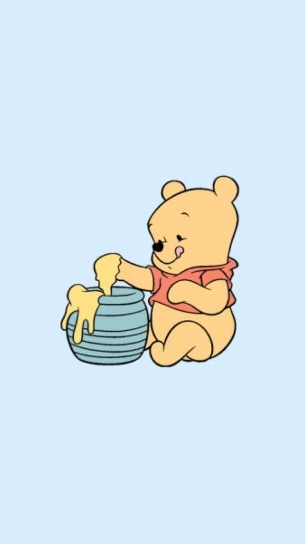 Winnie The Pooh Iphone Wallpapers Top Free Winnie The Pooh Within Winnie The Pooh Wallpape Cute Disney Wallpaper Wallpaper Iphone Disney Disney Phone Wallpaper
