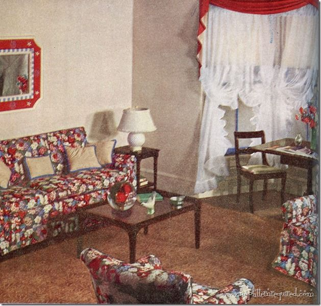 17 best images about the forties on pinterest window for 1940s window treatments