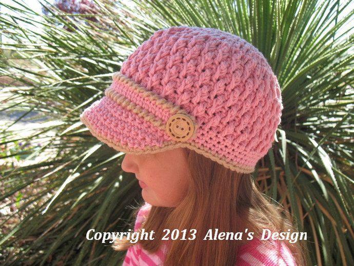 Mejores 160 imágenes de Hat Patterns en Pinterest | Crochet doble ...