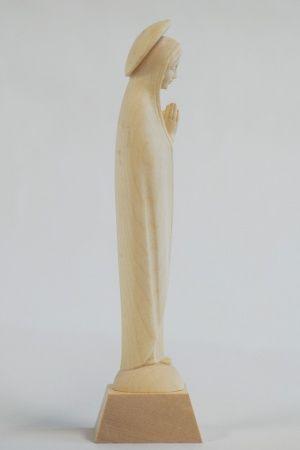 画像3: ご像 木彫り マリア像 白木 14cm                                                                                                                                                      もっと見る
