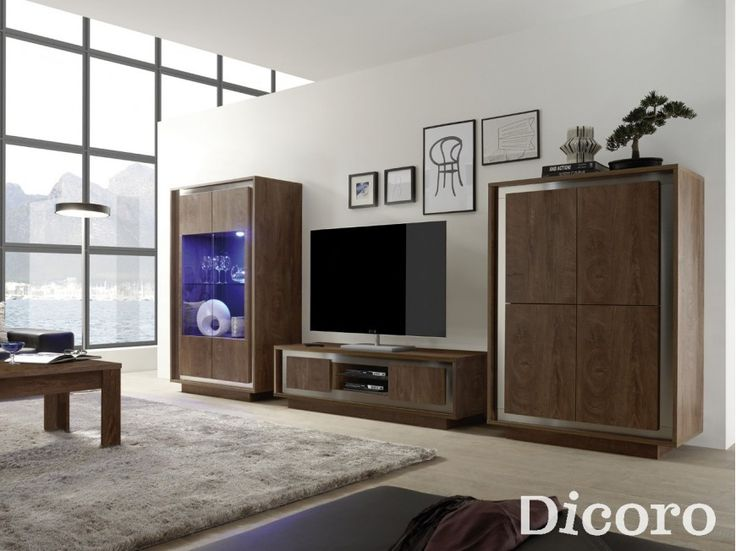 Mueble TV fly roble