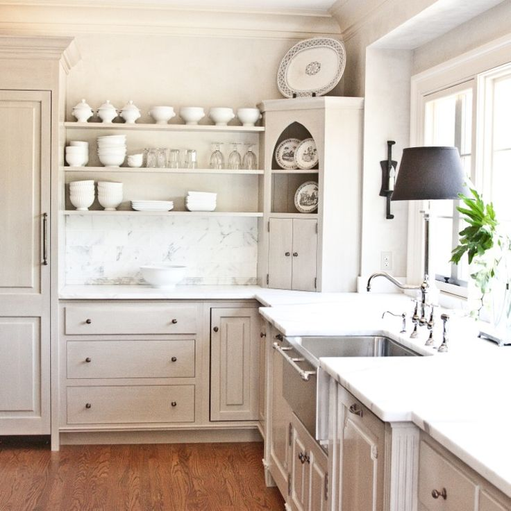 White Kitchen Shelf: 179 Best Open Shelves Images On Pinterest