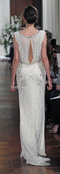 2013 Wedding Trend | Roaring '20s - Jenny Packham Spring Summer 2013