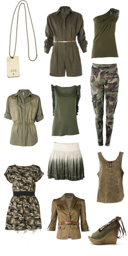 Military style - I still love this stylized version of the trend