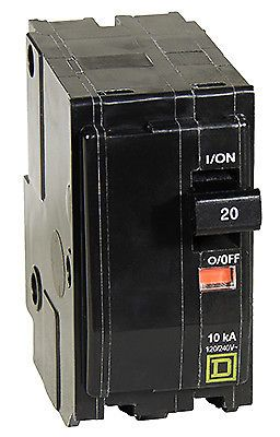 circuit breakers and fuse boxes 20596: square d by schneider electric qo  20-amp double-pole circuit breaker qo220cp -> buy it now only: $34 2 on # ebay