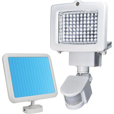 Sunforce LED Solar Motion Light — 80 LEDs, 10in.L x 6in.W x 5.5in.H