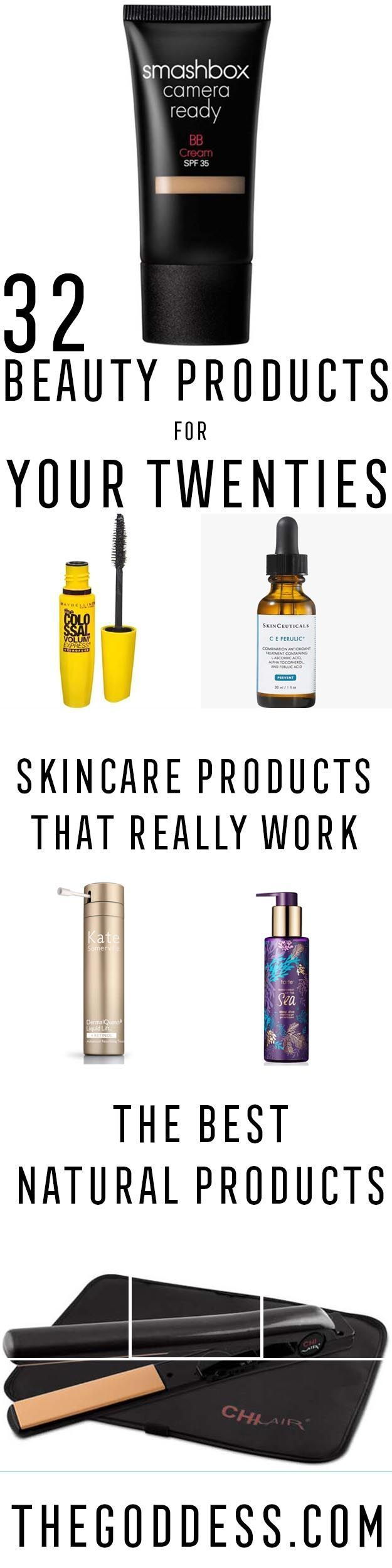 Best Beauty Products For Your 20s - Best Skin-Care Routine For Your 20s and The Best Skin-Care Regimens And Beauty Products You Need To Use In Your 20s. Anti Aging Routines and Exactly How To Take Care Of Your Skin In Your Twenties. We Cover Dermatologist Recommended Skin Care Routines And The Best Eye Creams For Your Early 20s. https://thegoddess.com/beauty-products-for-your-20s