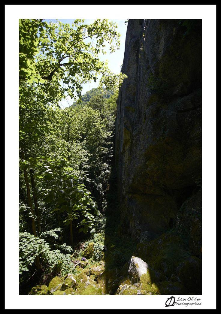 La falaise de Coudène - Aston (Haute-Ariège)
