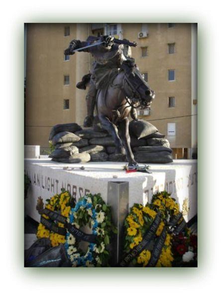 Australian Light Horse Monument, Beersheba Memorial