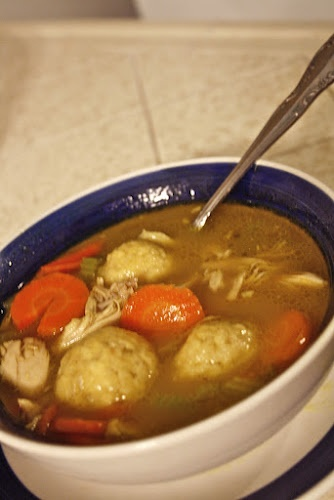 I absolutely love Matzo Ball soup....Reminds me of the old Sears Tower Levy restaurant days....Very nourishing....
