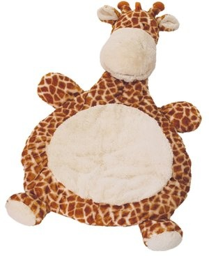 Giraffe baby mat - one of the softest gifts we received, and it's so cozy for the little one!