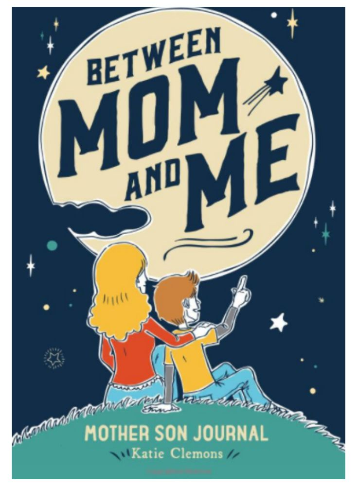 This little journal is adorable! We love that it's for moms and their sons! {aff.}