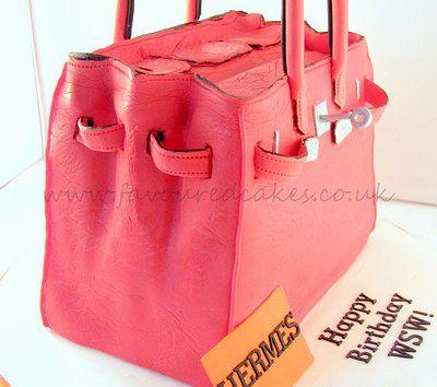 Hermes Birkin bag - opened