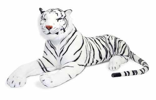 White tiger/snow tiger.  We sell more of these to men than we do to kids.  They look brilliant sitting on your bed as a room decorations.