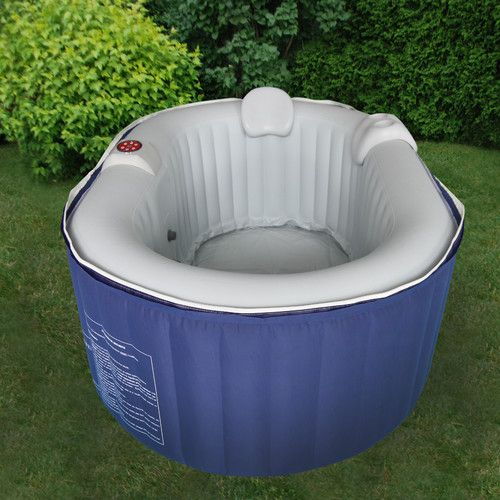 jacuzzi exterior inflable therapure 2 person oval inflatable spa for the home
