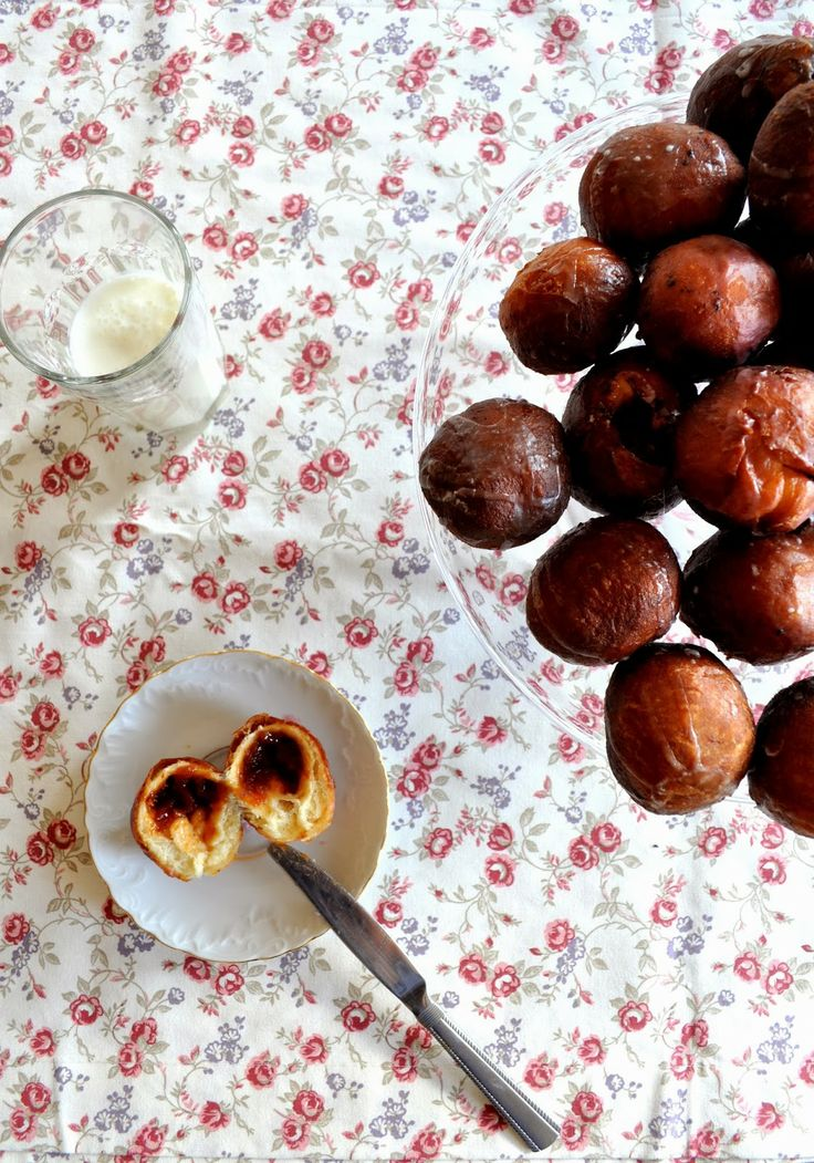 Glazed mini donuts  It's Fat Thursday in Poland and we suggest you make those delicious, marmalade filled mini donuts!