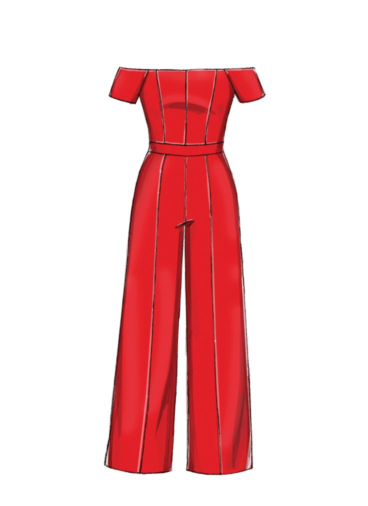 M7728 | Misses'/Miss Petite Jumpsuits Sewing P…