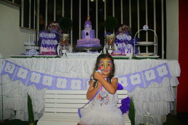 Temática Princesa Sofia