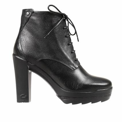 Ankle boots Guardiani Sport | Woman | Leather | #fashion #style #black #leather #shoes #winter