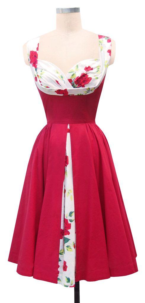 Trashy Diva Honey Baby Dress   1950s Inspired   Trashy Diva