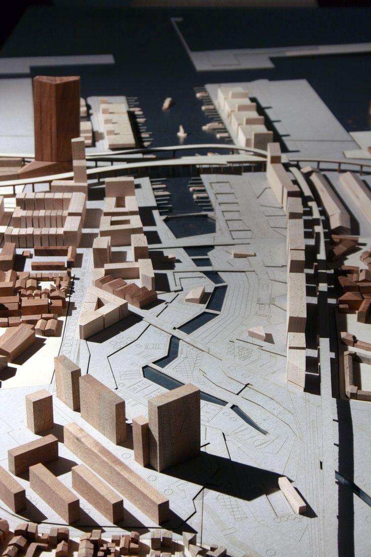 Providing access inland water: #Marseille #Urban Design #Architecture