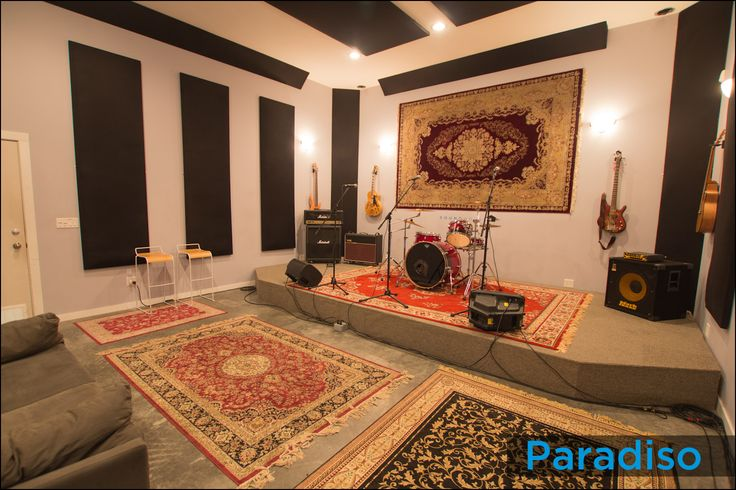 band rehearsal space - Google Search