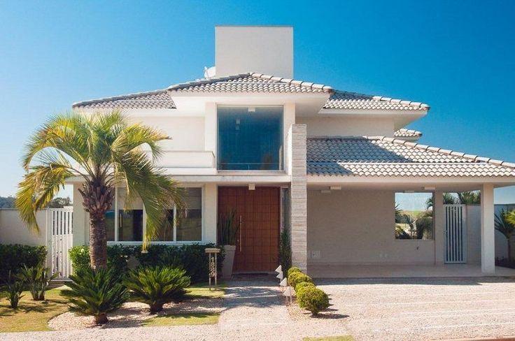 25 melhores ideias de telhados coloniais no pinterest for Casas modernas famosas