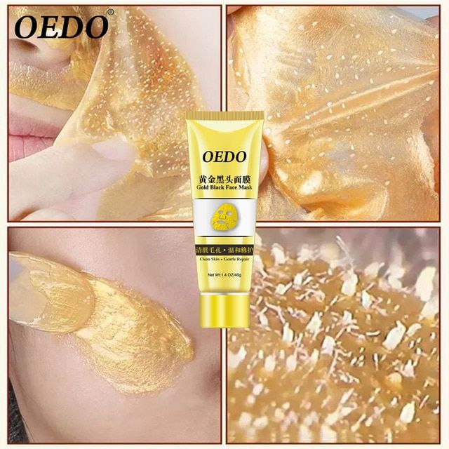 OEDO Gold Shrink Pores Improve Rough Skin Acne Blackhead Remove Mask Facial
