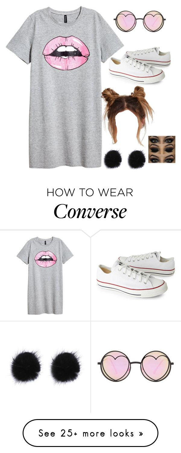 """Idk"" by gustavia5347 on Polyvore featuring Converse and Betsey Johnson"
