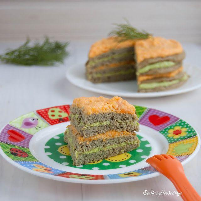 Кулинарный блог 365 дней: Детский печеночный тортик