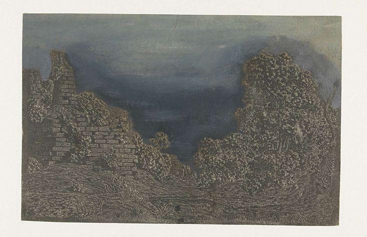 De tombes van de Horatii en Curiatii, Hercules Segers, ca. 1615 - ca. 1630