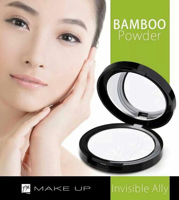FM   p020 - BAMBOO POWDER » een transparant poeder, perfect om uw make-up af te werken of gedurende de dag bij te werken » ontwikkeld op basis van plantenextracten, natuurlijke oliën en vitamine E » bamboe-extract matteert en maakt de huid effen en dankzij silica vermindert het poeder rimpels optimaal en verheldert het de teint » de katoenzaadolie die rijk is aan essentiële vetzuren voedt de huid en herstelt zijn elasticiteit » het hydraterende algenextract verbetert de conditie van de huid…