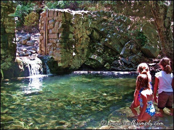 swim-hole-in-silverado-creek silverado canyon orange county, california
