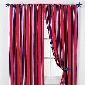 Curtains Red U0026 Blue
