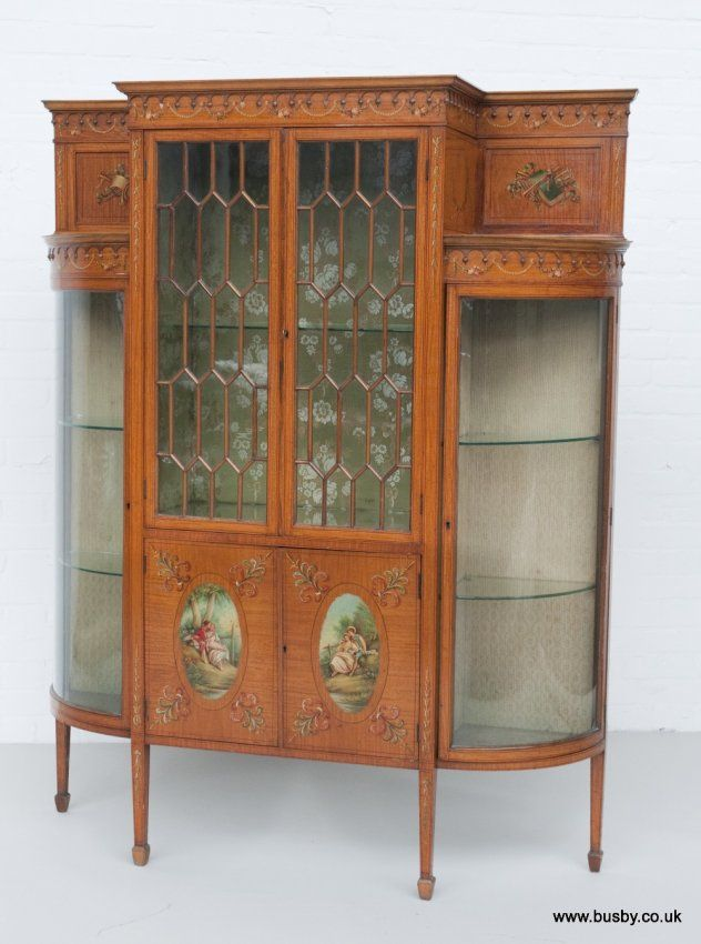 17 Best Images About Sheraton Style Furniture On Pinterest Antique Bookcase China Display And