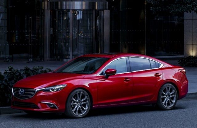 New 2018 Mazda 6 sedan will only get 184 horsepower from new engine. This means that is going to use 2.5L four cylinder engine as the main engine with no