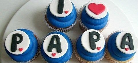 cup cakes dia del padre - Buscar con Google