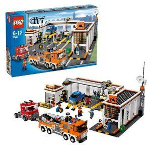 LEGO City: Garage 953 Pieces (7642) by LEGO. $269.99. Theres always something going on at the big city garage! When the call for help comes in, the heavy-duty tow truck is ready to haul any car or truck back for repairs. Use the auto lift, crane and tools to fix any problems and get those vehicles back on the road!. Set Contains 953 Pieces.. Theres always something going on at the big city garage! When the call for help comes in, the heavy-duty tow truck is re...