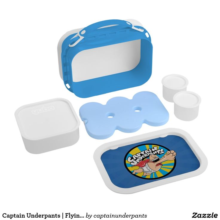 Captain Underpants   Flying Hero Badge. Producto disponible en tienda Zazzle. Product available in Zazzle store. Regalos, Gifts. #lonchera #LunchBox