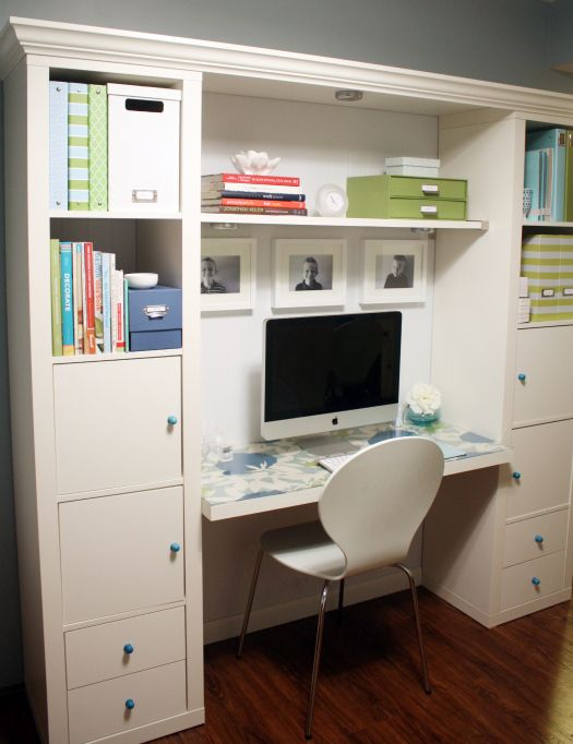 PERFECT!Work Stations, Offices Spaces, Stations Ideas, Expedit Ikea Desks, Organic Offices, Home Offices, Organic Desks, Expedit Hacks, Desks Spaces