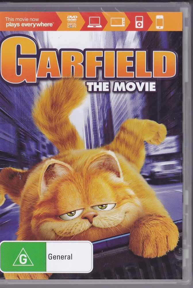 Garfield The Movie Dvd 2004 Brand New And Sealed In 2020 Garfield The Movie Movies Dvd Movies