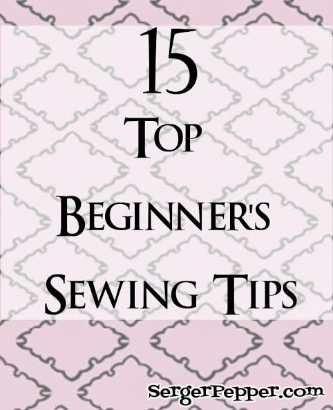 A whileago I was sharing this on TitiCrafty: my 15 Top Beginner's Sewing Tips...because Sewing is Fun ;) I'm sharing it here, just in case you missed it!   This post is part of the Sew Basic Series (remember the fabrics 101 + heatpadand the