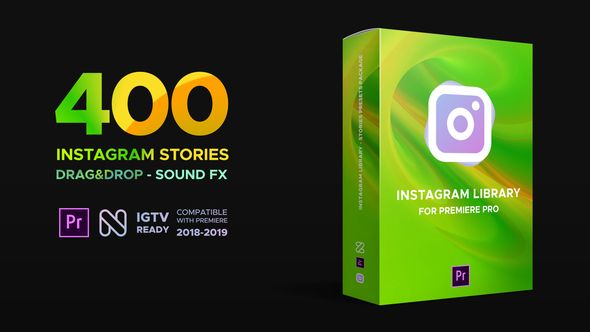 Buy Instagram Library for Premiere Pro by nitrozme on