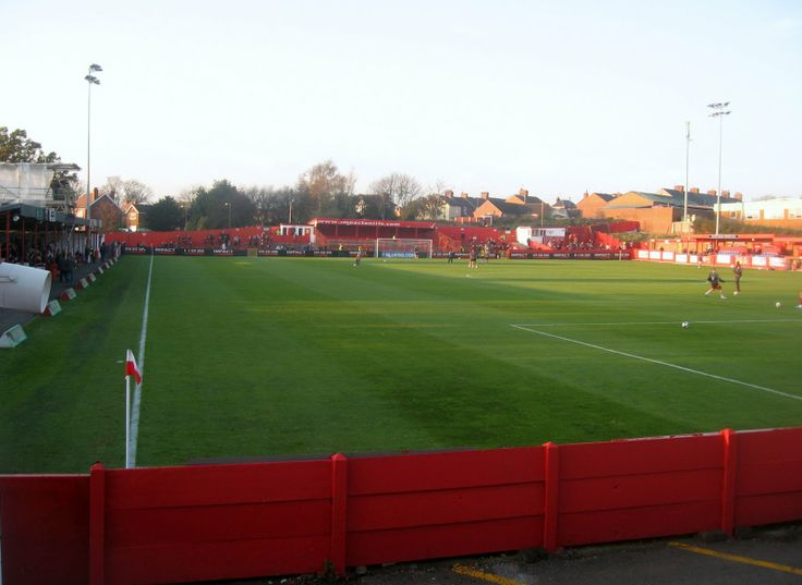 Alfreton Town FC - shittest ground I've ever been to.