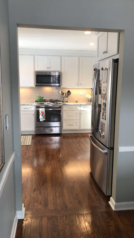 Best Kitchen Remodel Benjamin Moore Horizon Gray Stainless 400 x 300