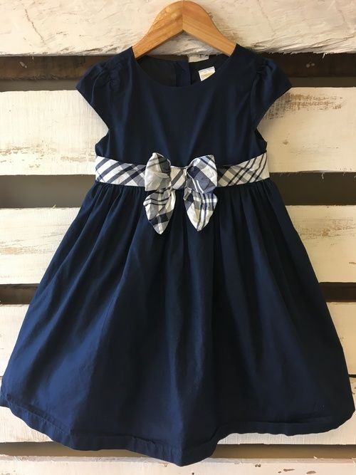 Gymboree Navy Special Occasion Dress
